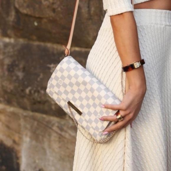 ffed842663c3 Louis Vuitton Handbags - Favorite MM Damier Azur